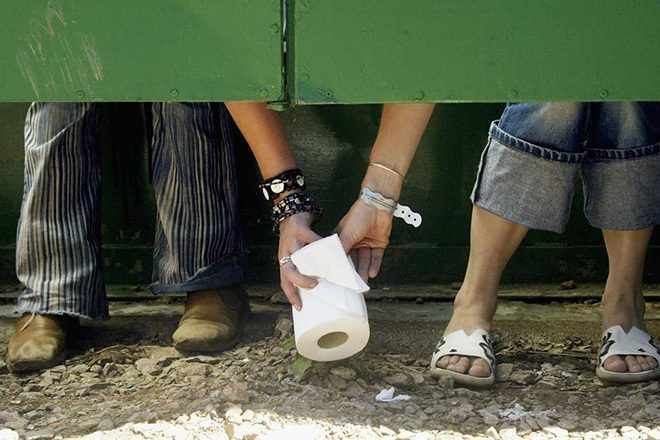 Human waste at Reading Festival will be used to power homes