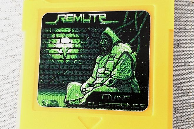 Remute is releasing his next album on a Game Boy cartridge