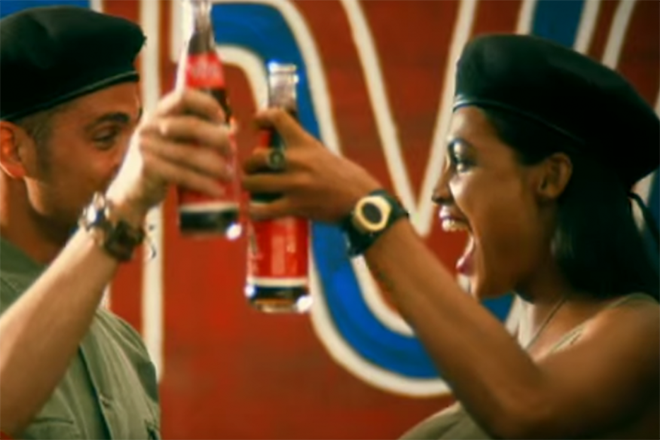 That infamous Kendall Jenner Pepsi commercial is a rip off a 1999 Chemical Brothers video