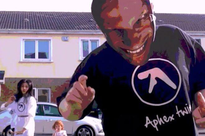 Boy from Aphex Twin's 'CIRKLON3' video says Happy Holidays