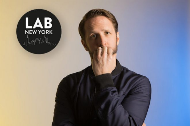 ​Ryan Crosson in The Lab NYC