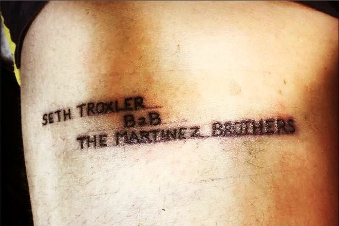 Someone has real love for Seth Troxler and The Martinez Brothers