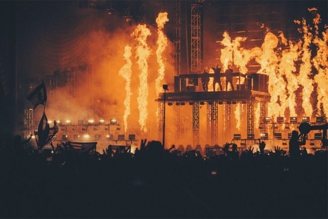 Swedish House Mafia's pyrotechnics at Creamfields caused millions in damages
