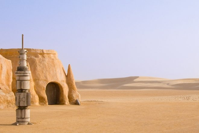 Les Dunes Electroniques is a 30-hour rave in the Star Wars desert location