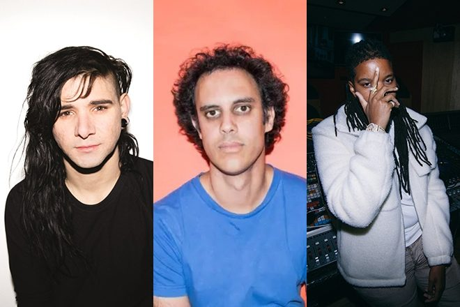 Skrillex, Four Tet and Starrah have released a track together