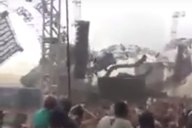 DJ killed in stage collapse at dance music festival in Brazil