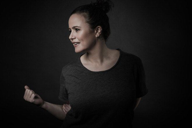 Steffi steps up for 'fabric 94'