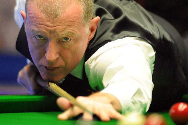 Snooker ledge Steve Davis is playing Bloc weekender