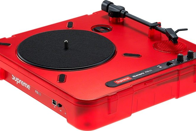 Supreme has made a turntable with Numark