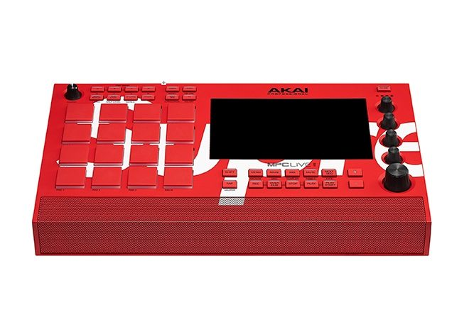 Supreme has collaborated with AKAI on its MPC Live II sampler