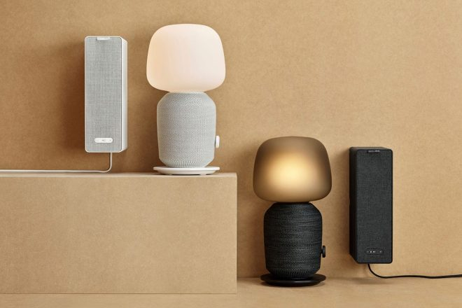 The SYMFONISK collection debuts with an all-in-one speaker and table lamp
