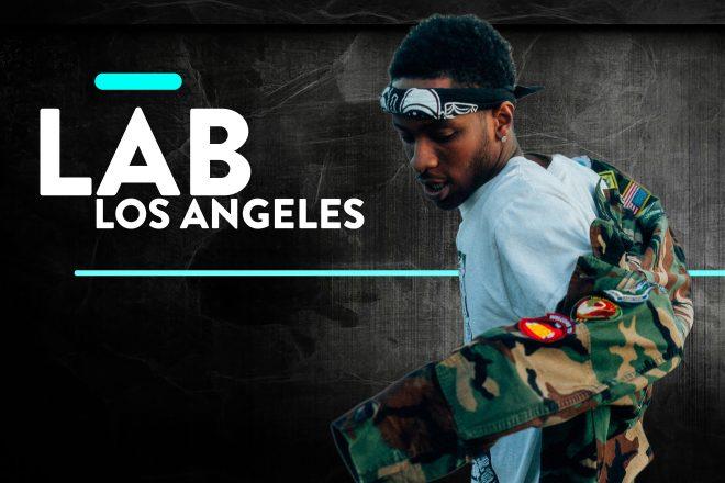DJ Taye in The Lab LA