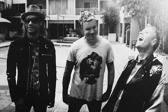 The Prodigy share a studio clip of new music