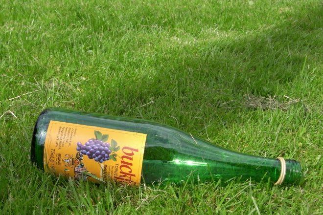 A TRNSMT attendee buried a bottle of Buckfast on site ahead of the festival