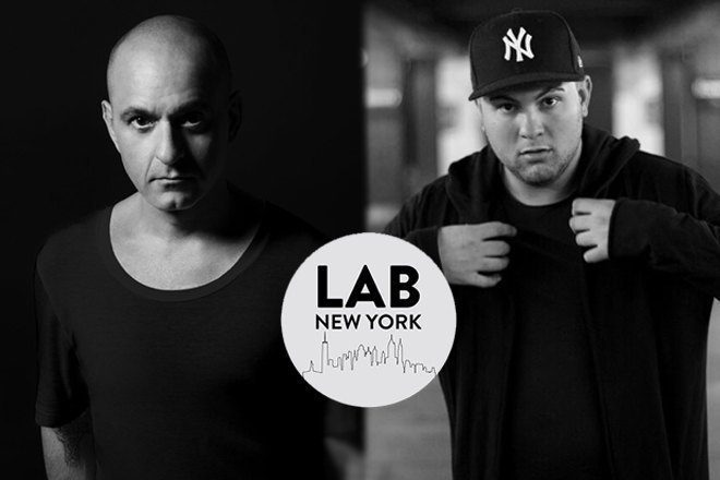 Victor Calderone and Avision in The Lab NYC