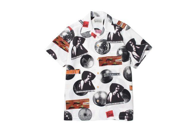 WACKO MARIA celebrate DJ Harvey's Japan tour with a limited edition Shirt