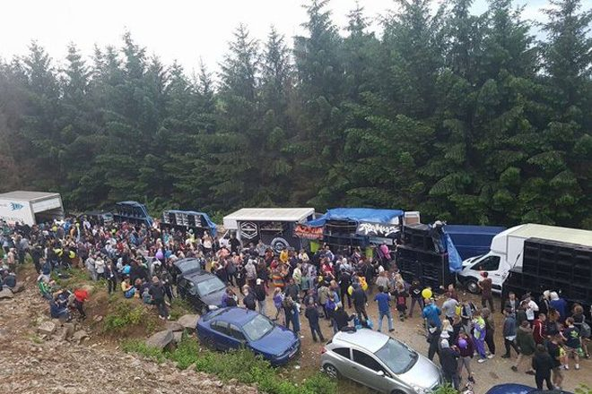 Police defend decision to allow illegal rave to continue for two days