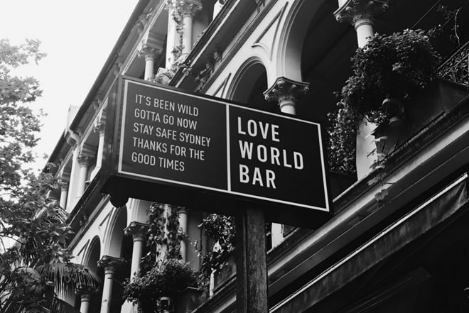 Sydney's revered venue The World Bar will close due to lockout laws