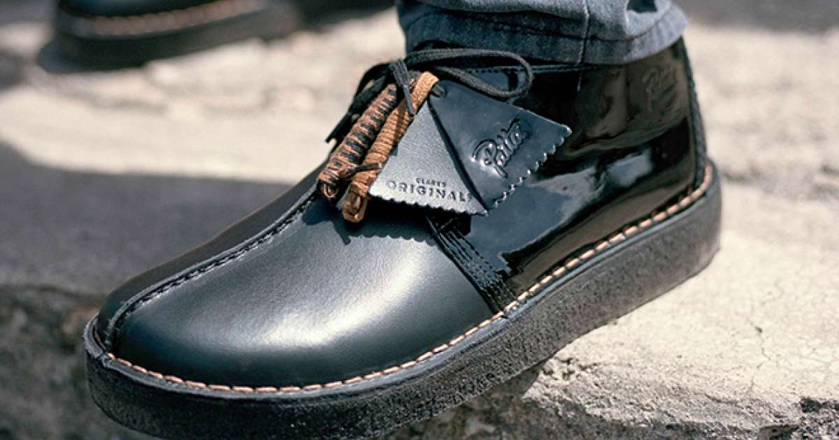 63d66125af Clarks Originals and Patta rework the iconic Desert Trek shoe ...