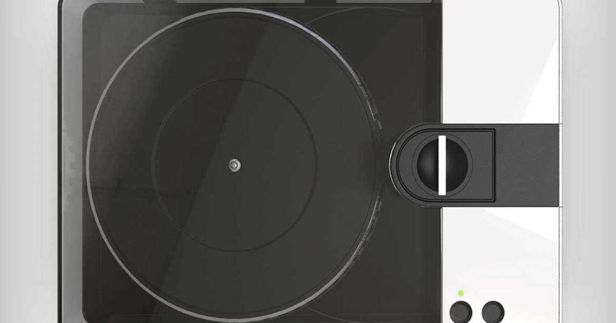 Cut your own vinyl records at home with this new machine