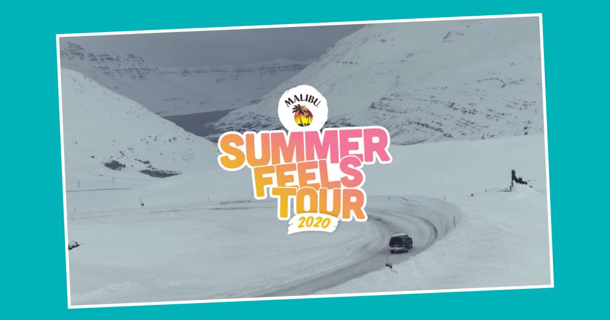 We found summer joy in the wilds of winter at Malibu's Summer Feels tour