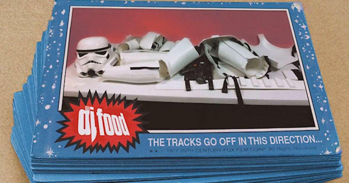 DJ Food unveils 30 minute audio-visual Star Wars mix