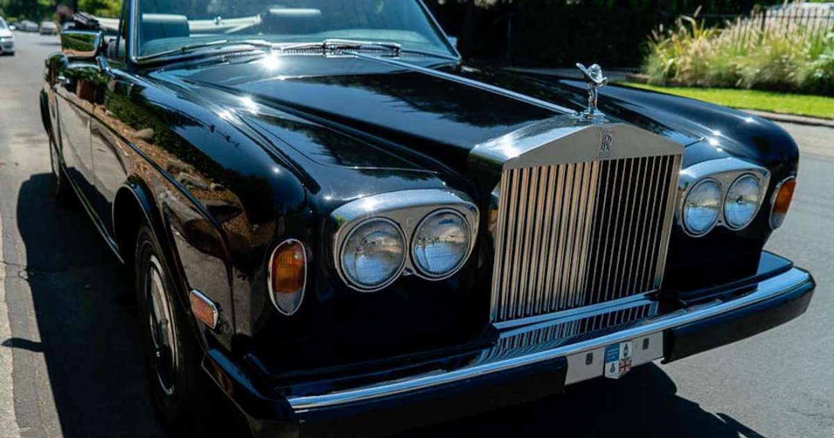 You can be the new owner of Claude VonStroke's Rolls Royce