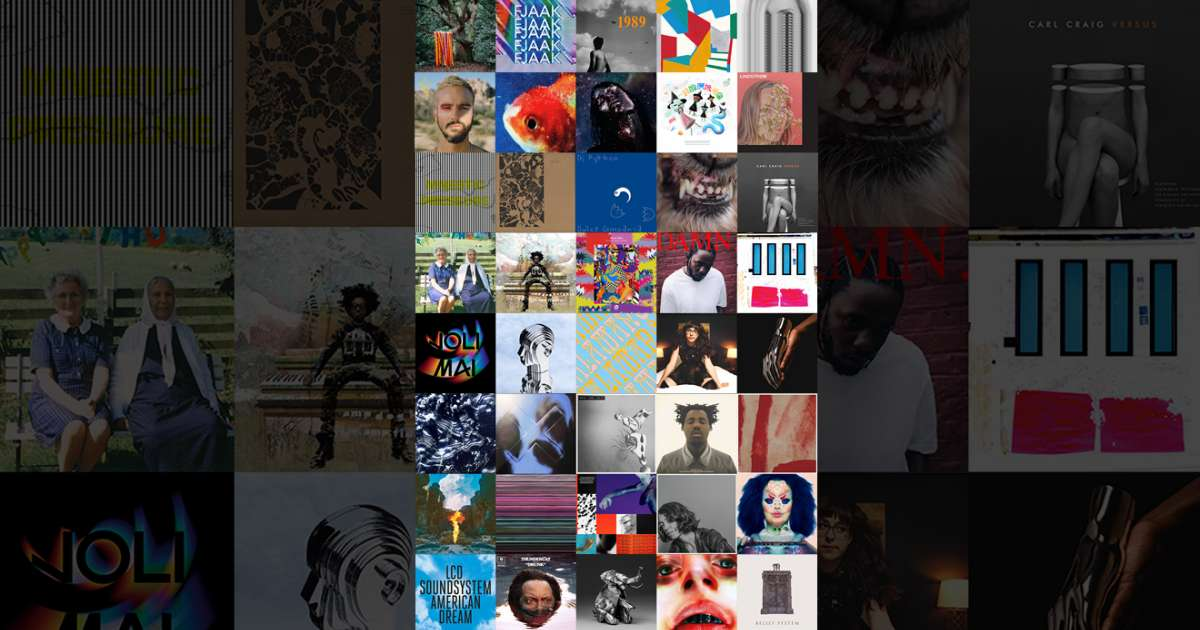 The Top 50 Albums of 2017