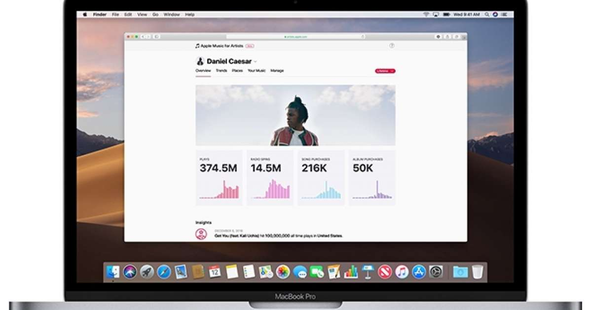 Apple Music has launched a new analytics tool for artists - News