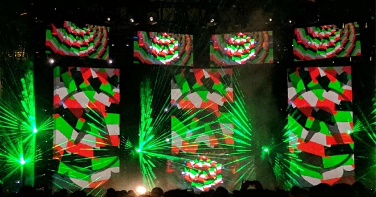 Watch Aphex Twin's mind melting Coachella 2019 performance