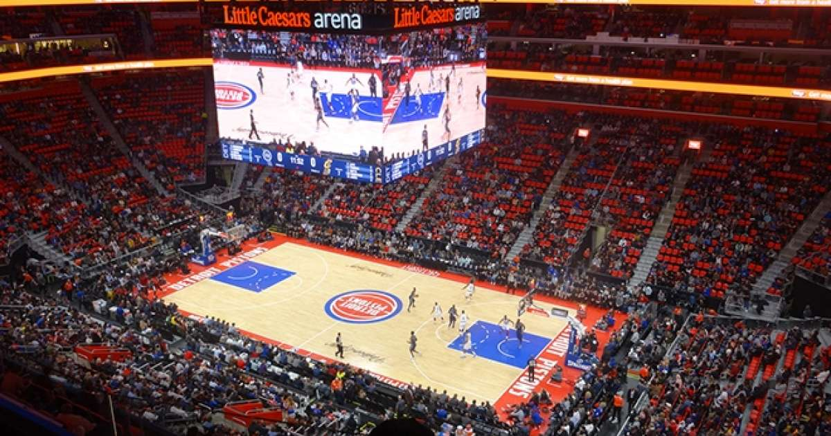 Watch Kevin Saunderson spin a Detroit Pistons halftime show