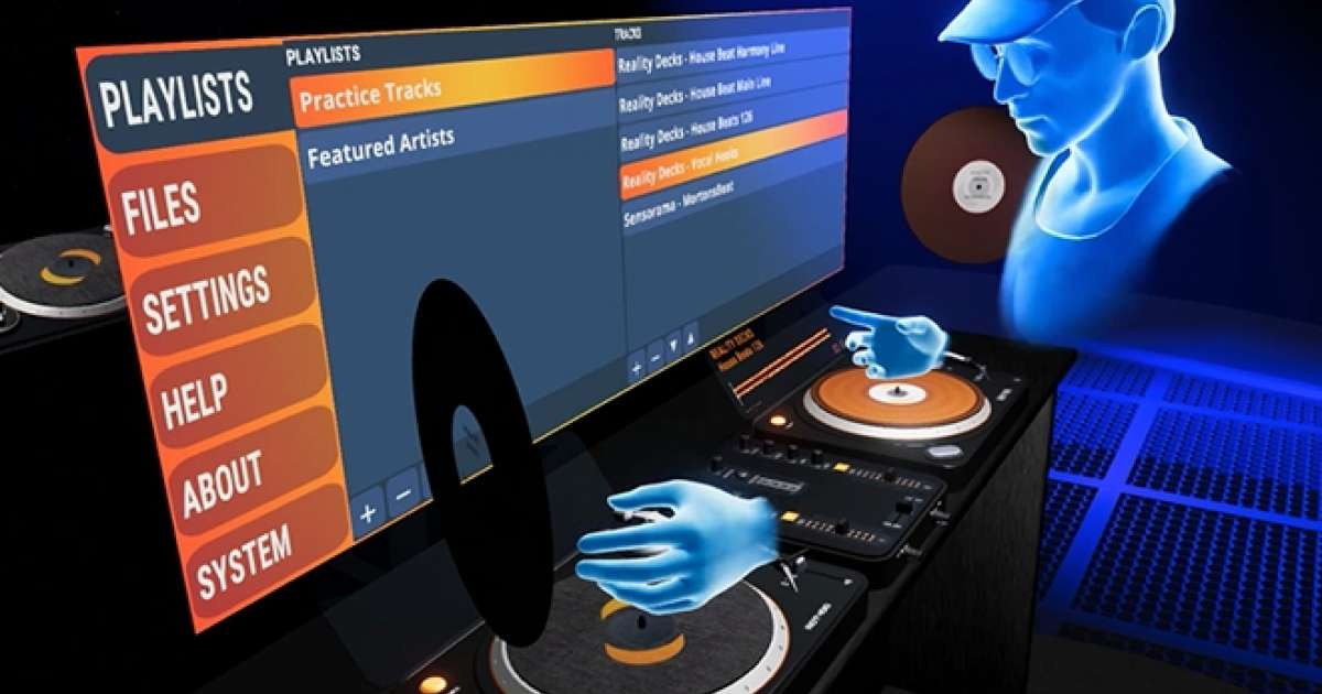 ​Oculus Rift reveals a new VR DJ app, Reality Decks