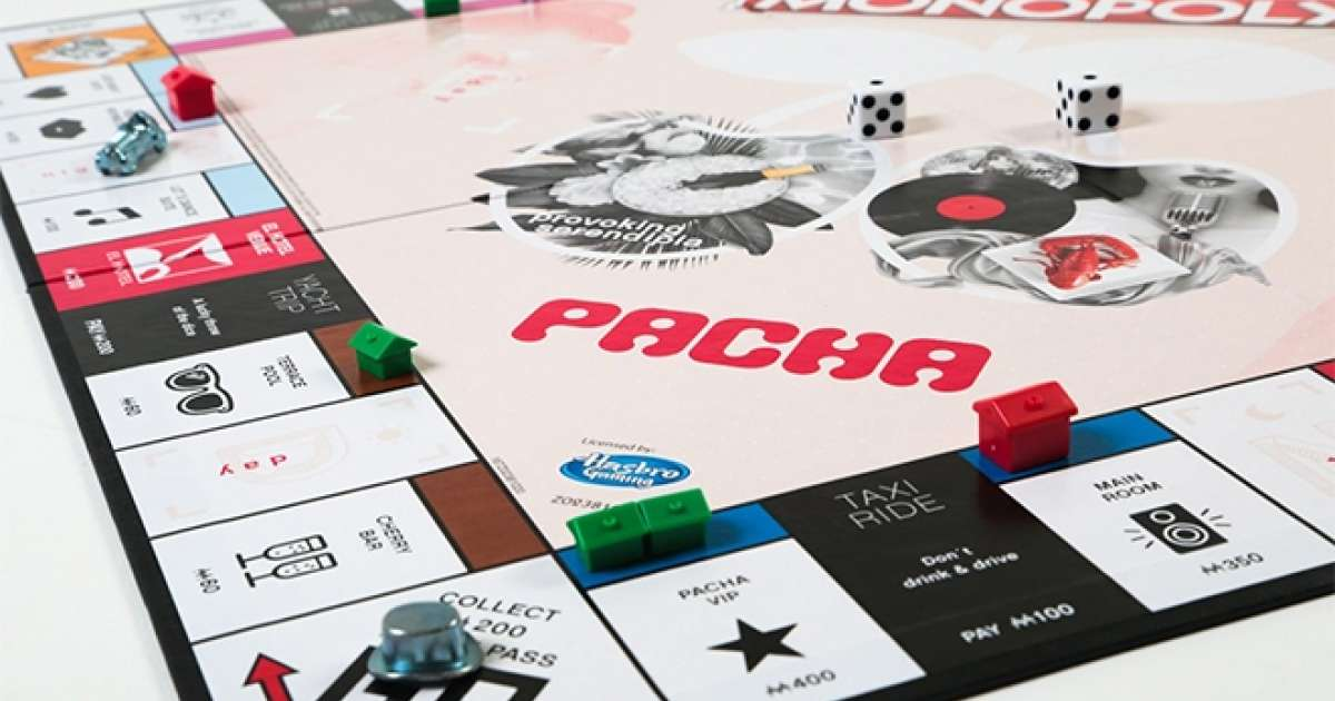 Pacha Ibiza now has its own Monopoly board game