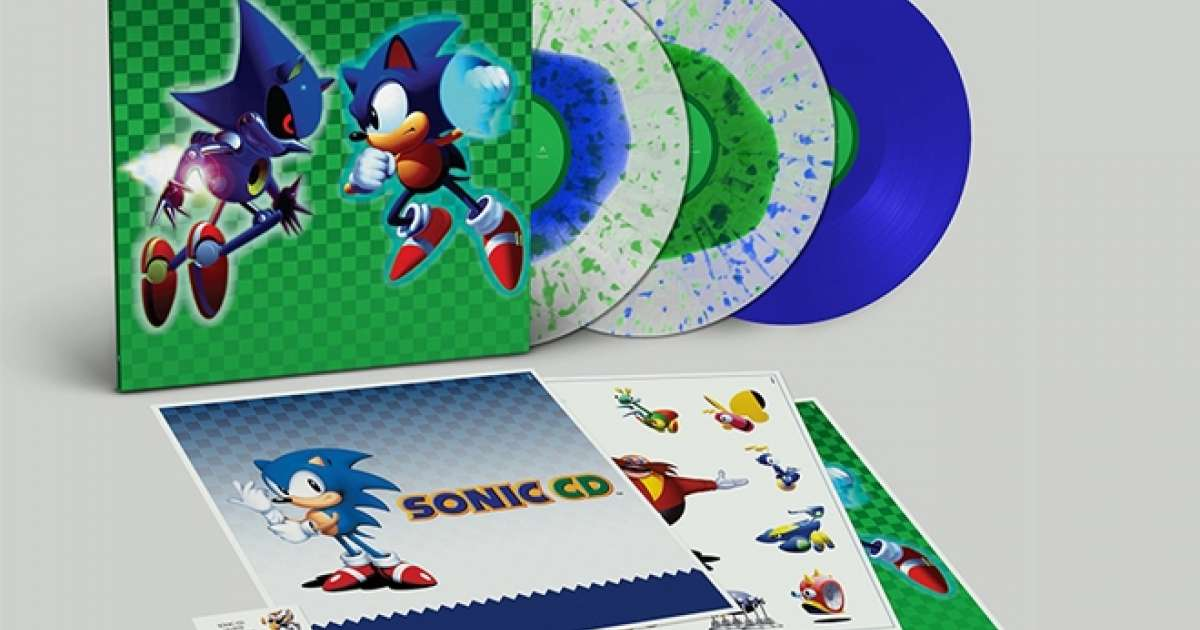Sonic video game soundtrack to be released on vinyl