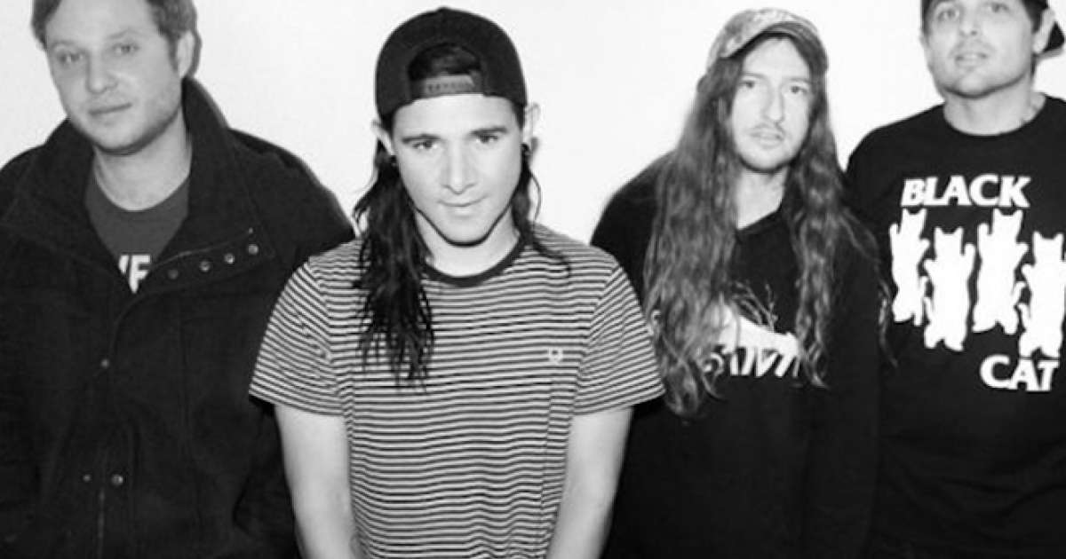 Skrillex Reunites With His Screamo Band From First To Last