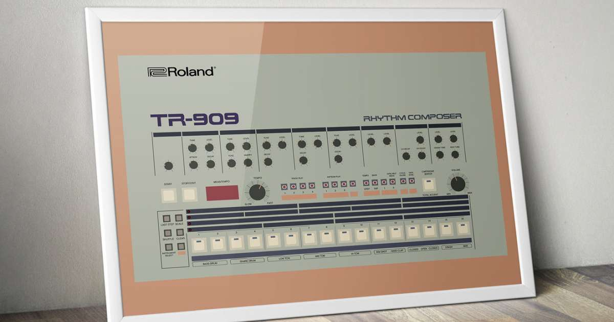Learn the history of the drum machine with this slick infographic