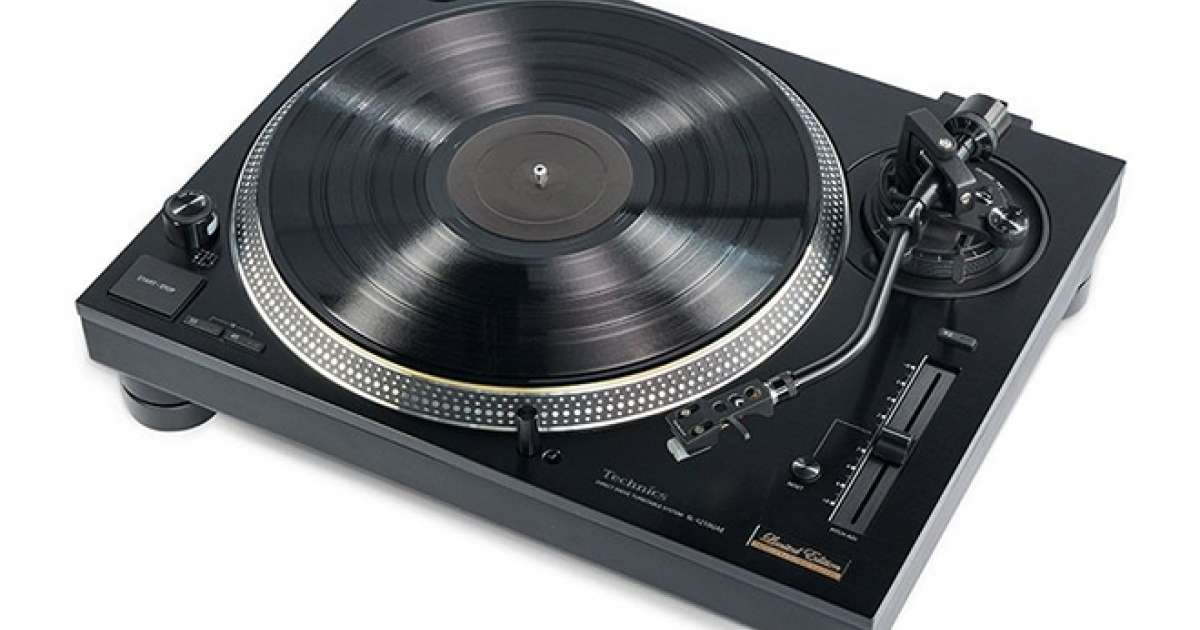 Technics unveils limited edition SL-1210GAE turntable