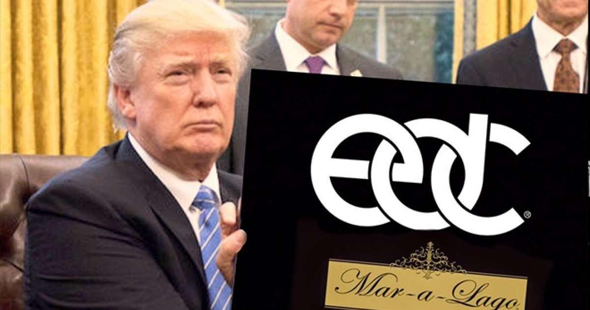 Twitter account reimagines Trump as EDM fan