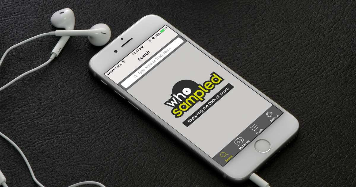 """WhoSampled launches Shazam-style app that reveals """"a song's entire DNA"""""""