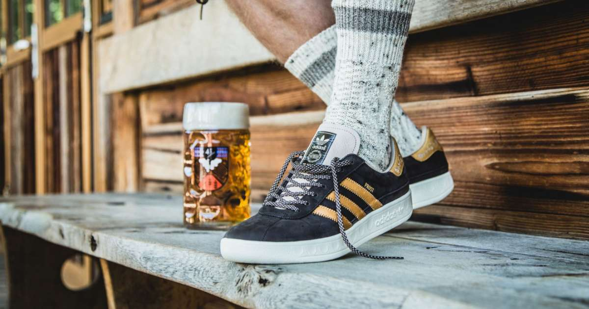 the best attitude 88799 65598 Adidas releases vomit and beer resistant sneakers for Oktoberfest - News -  Mixmag