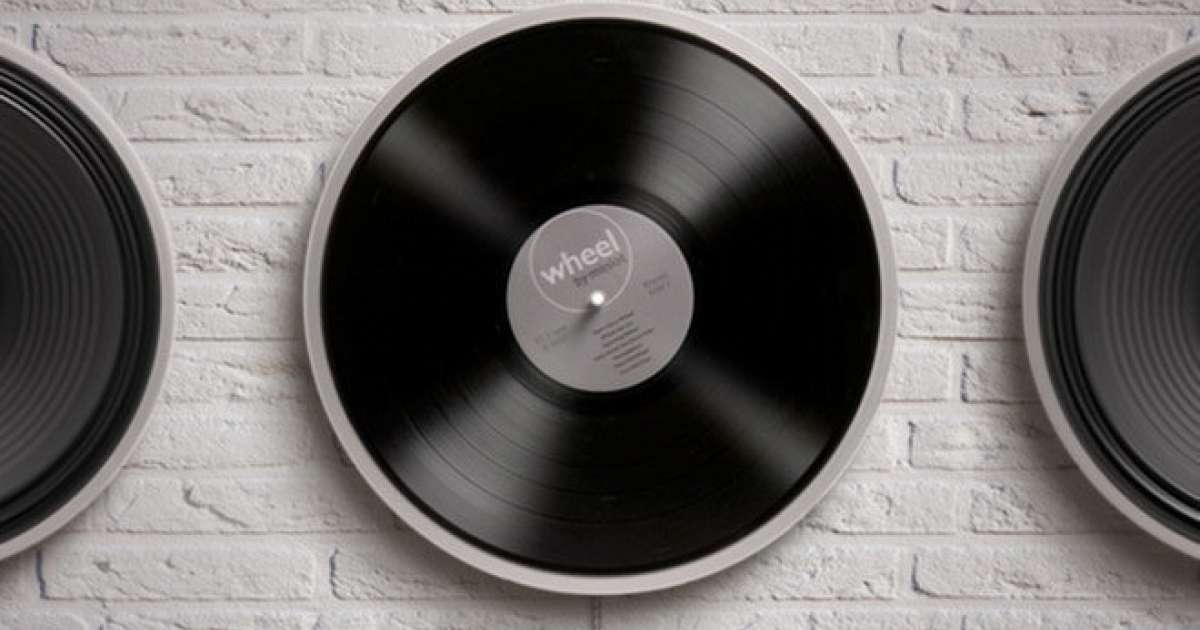 This minimalist record player has removed the external needle
