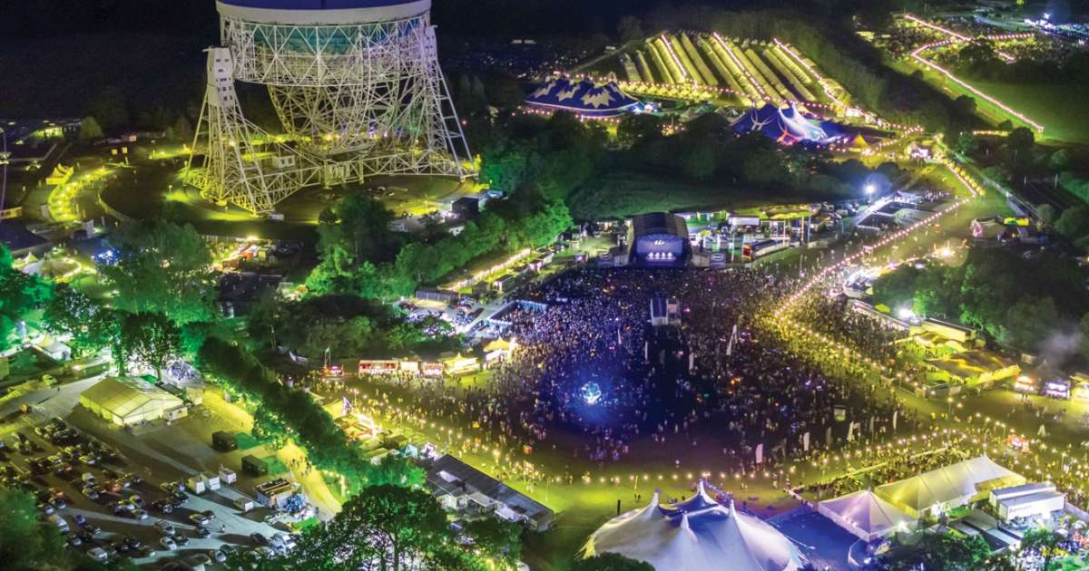 Bluedot festival is a unique blend of science and rave