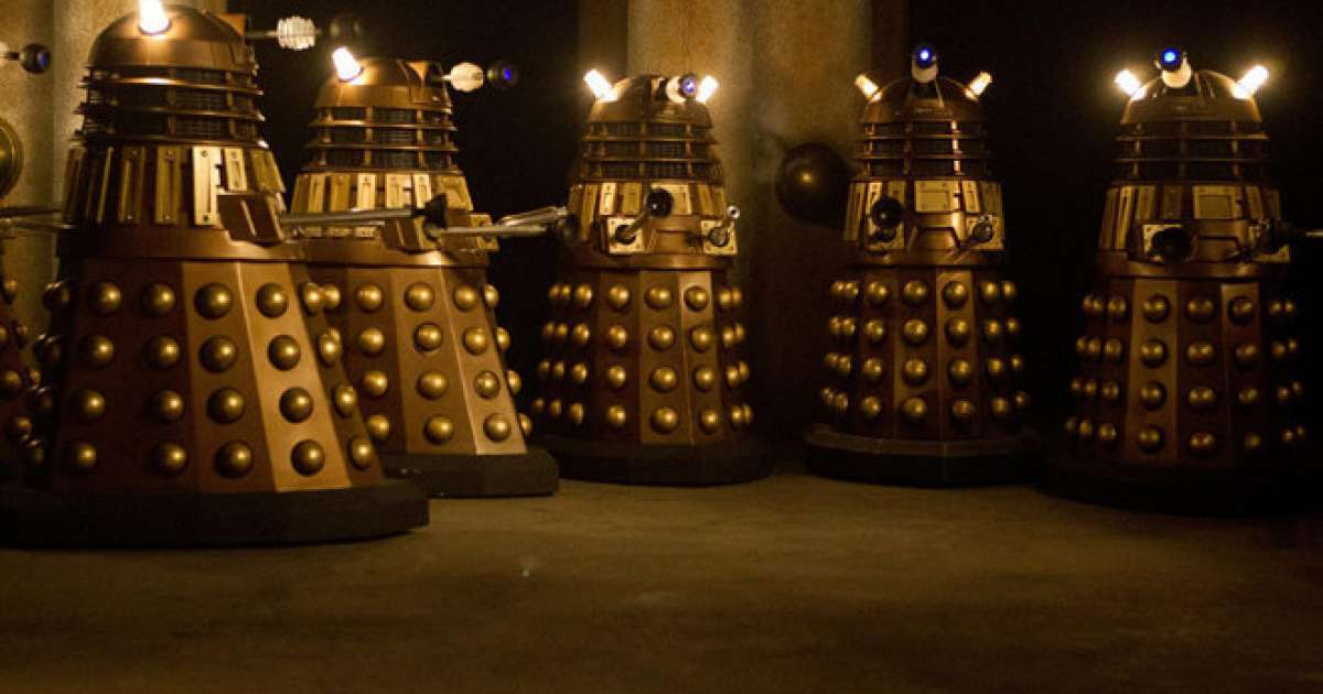 A Dr Who Fan Has Made A Synth From A Dalek Model Tech Mixmag