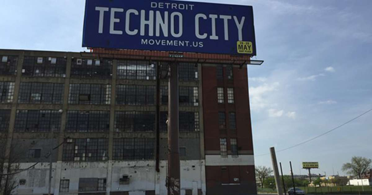 Detroit is the birthplace of techno and it won't let you forget it