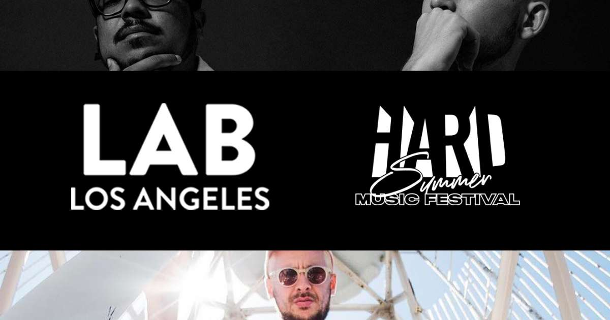 4df7636d HARD Summer takeover with GTA and Born Dirty in The Lab LA - The Lab ...