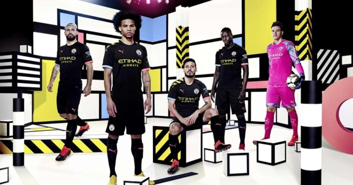 big sale 1c941 bd0ab Man City's new away kit is styled on The Haçienda - Fashion ...