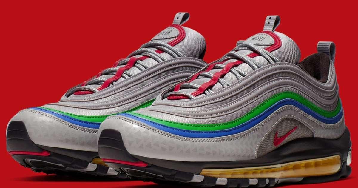 CSSQZM19070323 Nike Air Max 97 Guava Ice 921733 801