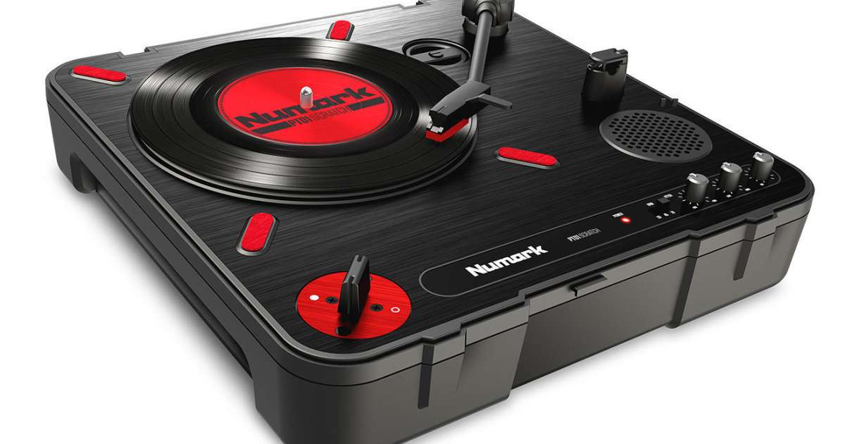 Numark S New Portable Turntable Has Scratch Functionality
