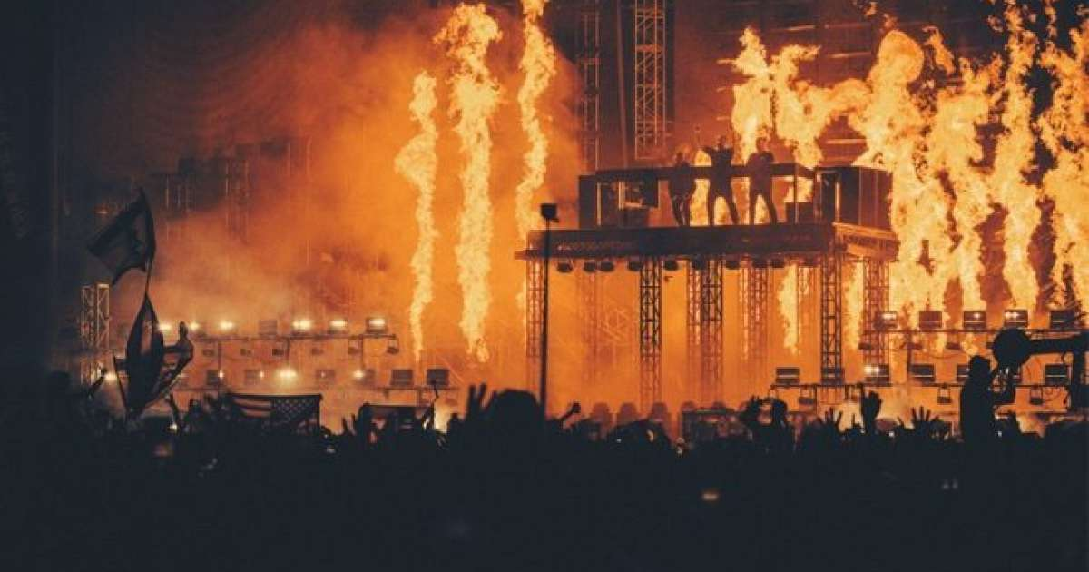 ​Swedish House Mafia's pyrotechnics at Creamfields caused millions in damages