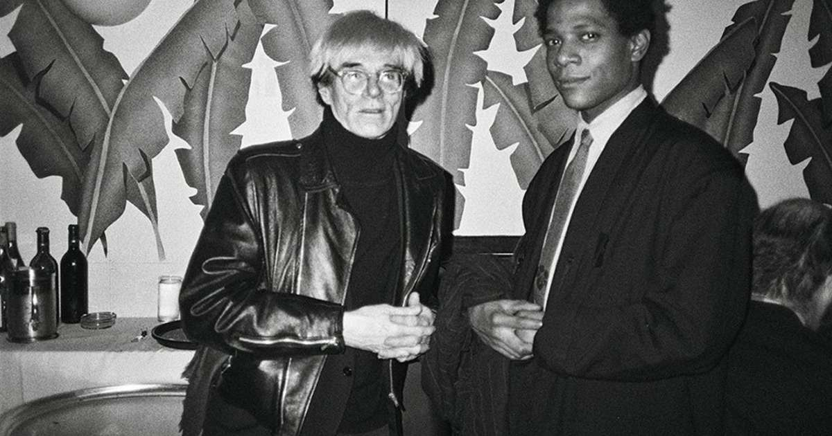 New photo book explores the relationship of Andy Warhol and Jean-Michel Basquiat